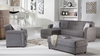 Vision Gray Sectional Sleeper Gainesville furniture stores
