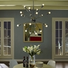 VOLLEY CHANDELIER IN SILVER