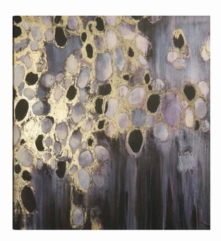 Wall Art Bubbly Reflection Abstract Art