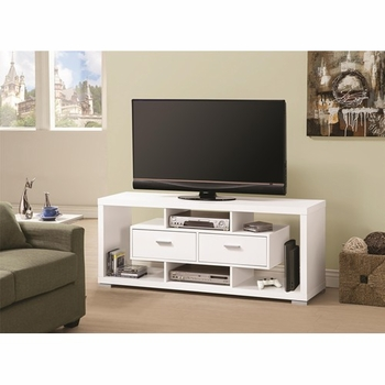 2-Drawer Rectangular TV Console # 700112