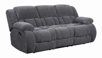 Weissman Casual Pillow Padded Reclining Sofa