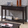 Whitehall Sofa Table w/ Shelf & Storage Drawers