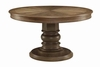 Willem Round Single Pedestal Dining Table