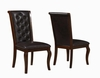 Williamsburg Dining Chair with Tutfted Back and Cabriole Legs
