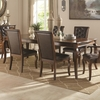 Williamsburg Traditional Dining Table with Cabriole Legs and Leaf
