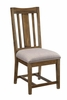 Willowbrook Solid Wood Dining Chair with Upholstered Seat