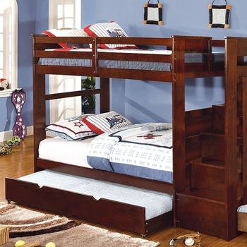 Woodbridge Twin/Twin Bunk bed with trundle or storage optional