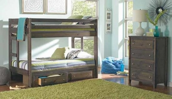 Wrangle Hill Twin/Twin Bunk bed