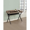 Writing Desk with 3 Compartments & 1 Shelf