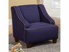 Youth Seating and Kid's Chair in Royal Blue Fabric
