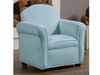 Youth Seating and Kid's Chair in Textured Baby Blue Fabric