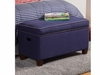 Youth Seating and Storage Upholstered Storage Bench in Royal Blue