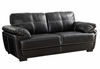 Zenon Two Cushion Sofa with Baseball Stitching