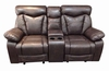 Zimmerman Reclining Love Seat with Cup Holders