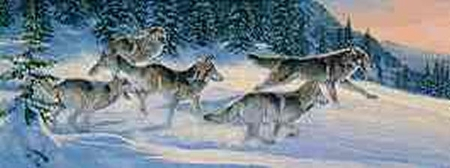 """Al Agnew Limited Edition Print: """"Run for the Moment"""""""