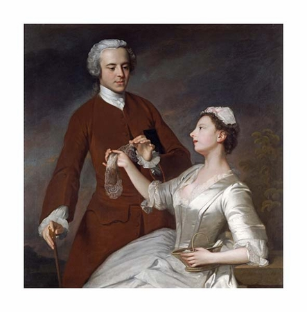 "Allan Ramsay Fine Art Open Edition Giclée:""Portrait of Sir Edward and Lady Turner"""