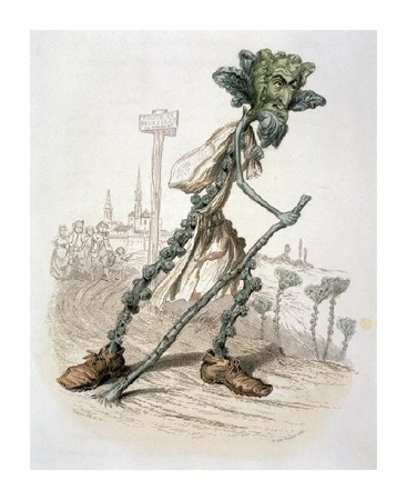 """Amedee Varin Fine Art Open Edition Giclée:""""Brussels Sprouts-Historic Persons in Brabantle"""""""