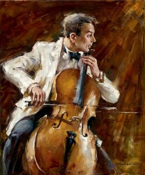 "Andrew (Andrew Atroshenko) Handsigned and Numbered Limited Edition Giclee on Canvas:""Bassline"""