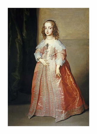 "Anthony Van Dyck Fine Art Open Edition Giclée:""Portrait of Mary, Princess Royal"""