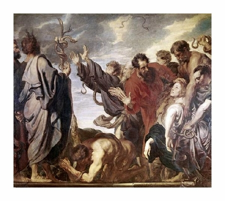 "Anthony Van Dyck Fine Art Open Edition Giclée:""Serpent of Metal"""