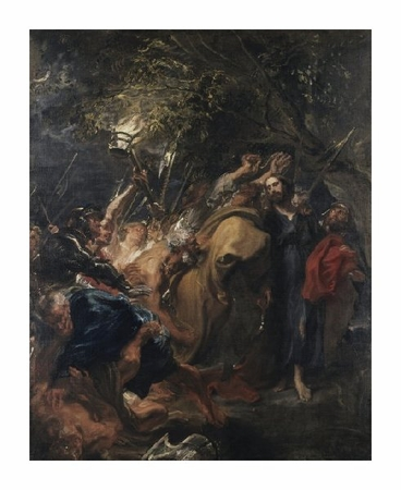 "Anthony Van Dyck Fine Art Open Edition Giclée:""The Betrayal of Christ"""