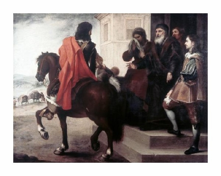 "Bartolome Esteban Murillo Fine Art Open Edition Giclée:""Departure of the Prodigal Son"""