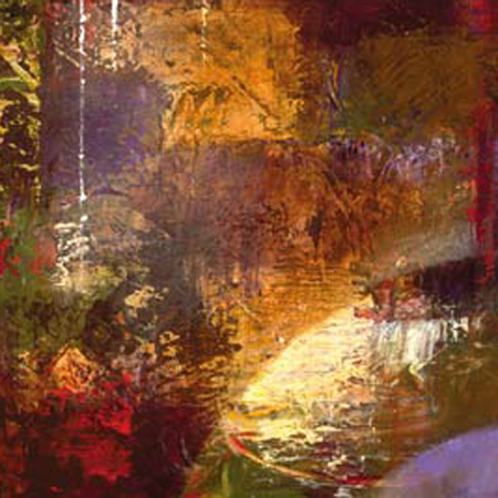 "Bruce Marion Signed and Numbered Limited Edition Giclée on Canvas with hand embellishment Paper:""Textura Prosperity #2"""