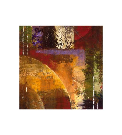 "Bruce Marion Signed and Numbered Limited Edition Giclée on Somerset Velvet Paper:""Textura Rising #2"""