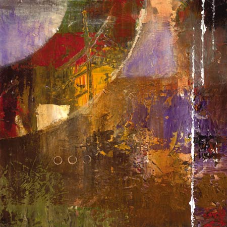 """Bruce Marion Signed and Numbered Limited Edition Giclée on Somerset Velvet with enhancement Paper:""""Textura Rising #3"""""""