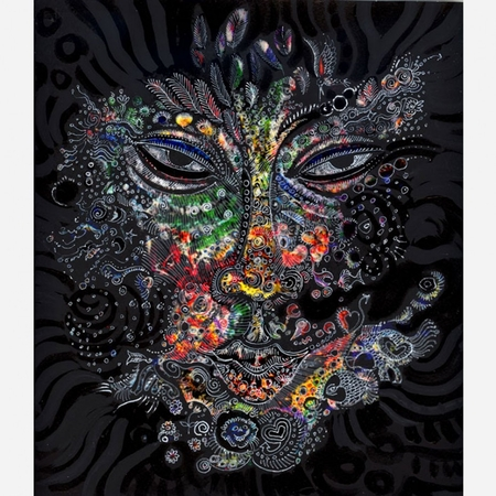 "Charles Bibbs Hand Signed and Numbered Limited Edition: ""Mask # 3 Collaboration"""