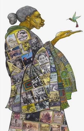 """Charles Bibbs Hand Signed and Numbered Limited Edition:""""Legacy of Hope"""""""