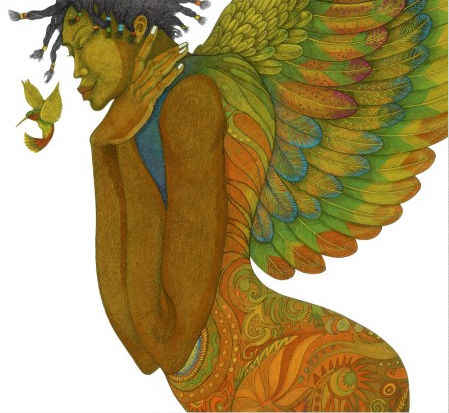 """Charles Bibbs Hand Signed and Numbered Limited Edition:""""Wings Of Life"""""""