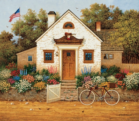 "Charles Wysocki Handsigned and Numbered Limited Edition Print:""Someday Carnegie Hall, or will it be Yankee Stadium"""