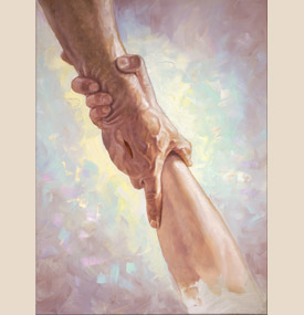"Chris Hopkins Fine Art Reproduction:""Helping Hand"""