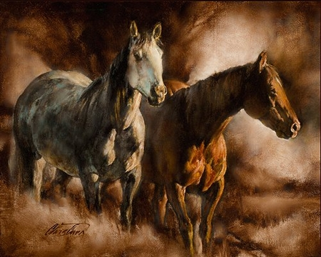 """Chris Owen Hand Signed and Numbered Limited Edition Giclee Print and Canvas :""""Friendship"""""""
