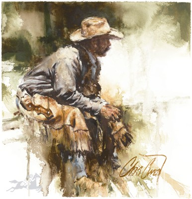 "Chris Owen Handsigned & Numbered Limited Edition Artist Proof:""Hired Hand"""