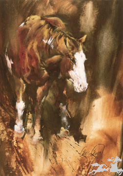 """Chris Owen Limited Edition Print:""""The Mare"""""""