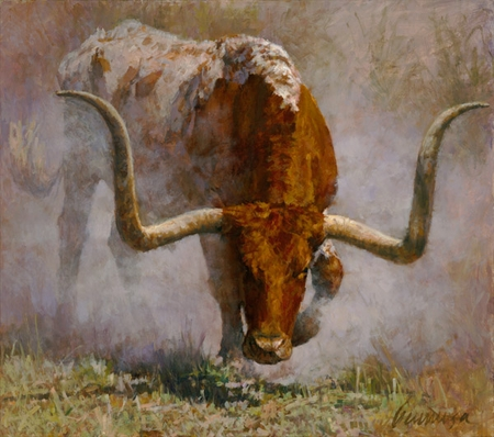 """Ragan Gennusa Hand Signed and Numbered Limited Edition Giclee:""""Fightin' Side"""""""