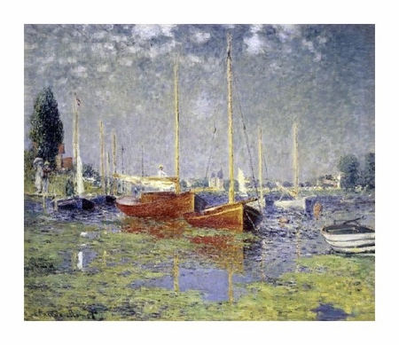 "Claude Monet Fine Art Open Edition Giclée:""Argenteuil"""