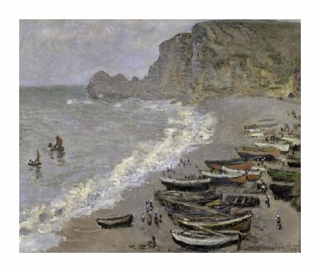 "Claude Monet Fine Art Open Edition Giclée:""Etretat"""