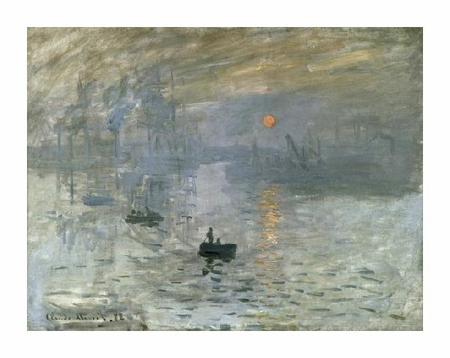 "Claude Monet Fine Art Open Edition Giclée:""Impression: Sunrise"""
