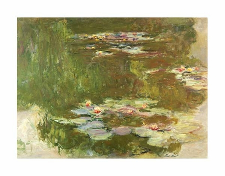 "Claude Monet Fine Art Open Edition Giclée:""Lily Pond"""