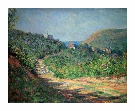 "Claude Monet Fine Art Open Edition Giclée:""Printemps a Giverny"""