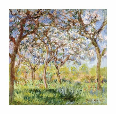 """Claude Monet Fine Art Open Edition Giclée:""""Spring at Giverny"""""""