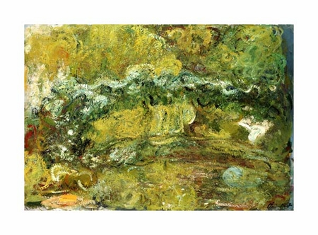 "Claude Monet Fine Art Open Edition Giclée:""The Japanese Bridge"""