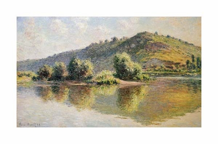 "Claude Monet Fine Art Open Edition Giclée:""The Seine at Port-Villez"""