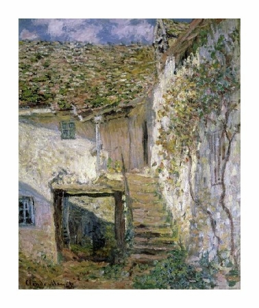 "Claude Monet Fine Art Open Edition Giclée:""The Staircase"""