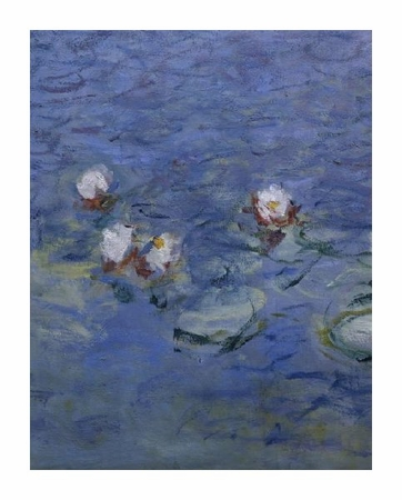 "Claude Monet Fine Art Open Edition Giclée:""Water Lilies (Detail)"""