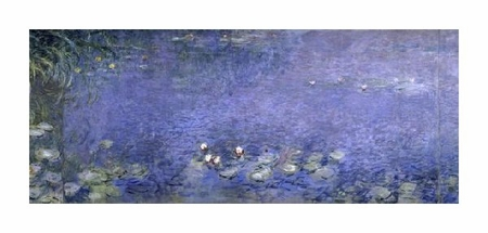 "Claude Monet Fine Art Open Edition Giclée:""Water Lilies (Nymphaeas) VI"""