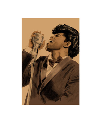 """Clifford Faust Limited Edition Pencil Signed Artist's Proof Giclee:"""" James Brown"""""""